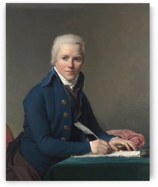 Portrait of Jacob by Jacques-Louis David