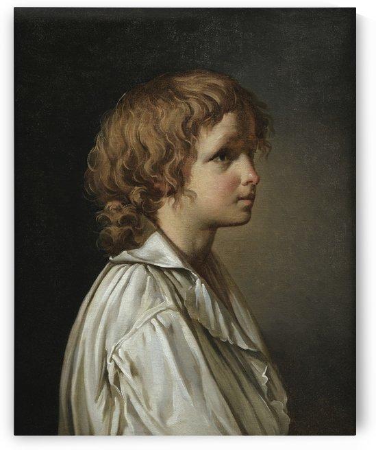 A boy by Jacques-Louis David