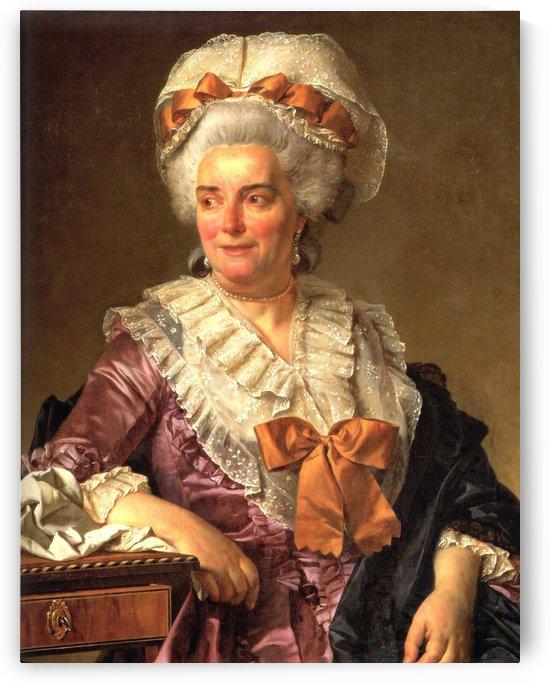 Portrait of Genevieve Jacqueline Pecoul by Jacques-Louis David