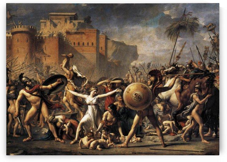 The Sabine Women by Jacques-Louis David