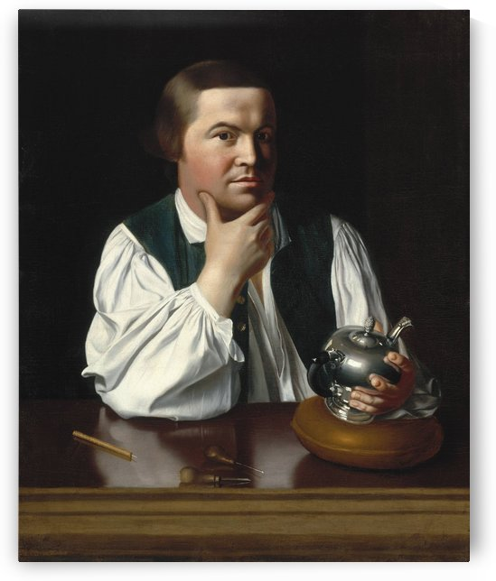 Paul Revere by John Singleton Copley