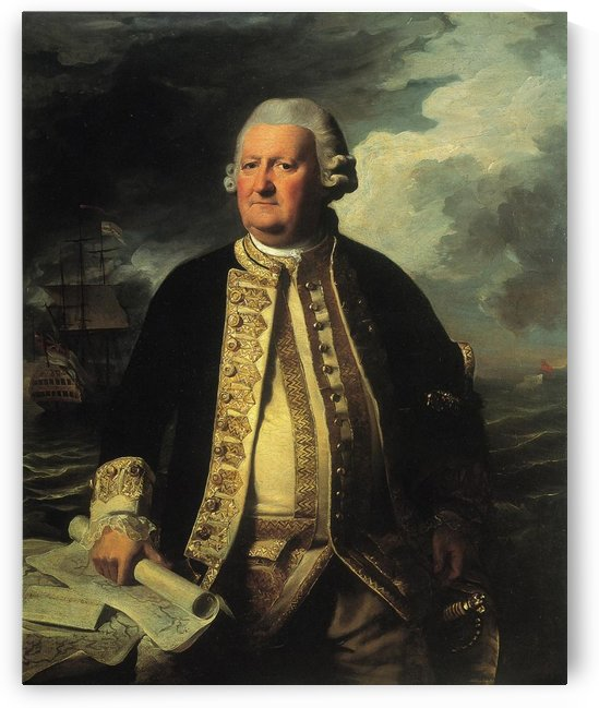 Admiral of the White by John Singleton Copley
