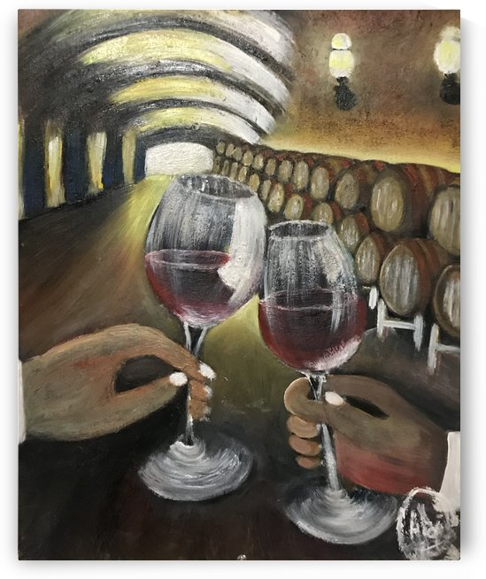 A wine Tasting  by Alexis Garcia