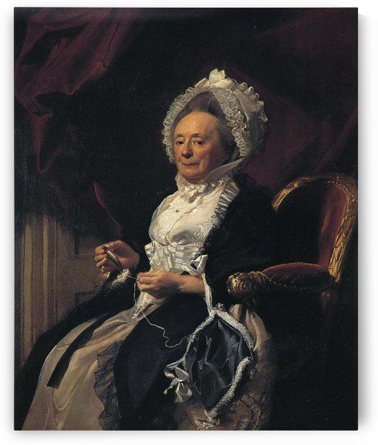 Mrs Seymour Fort by John Singleton Copley