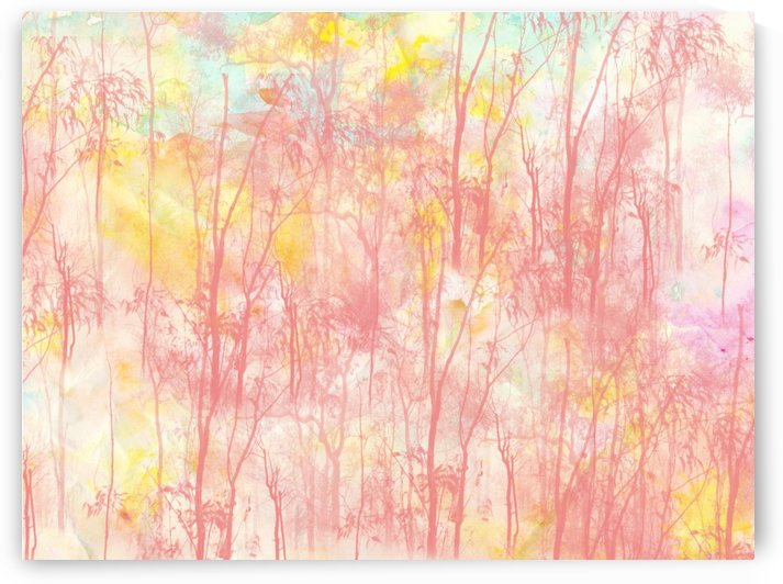 Watercolor Forest by D  Zagata