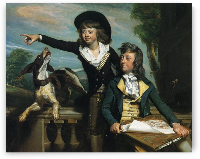 The Western Brothers by John Singleton Copley