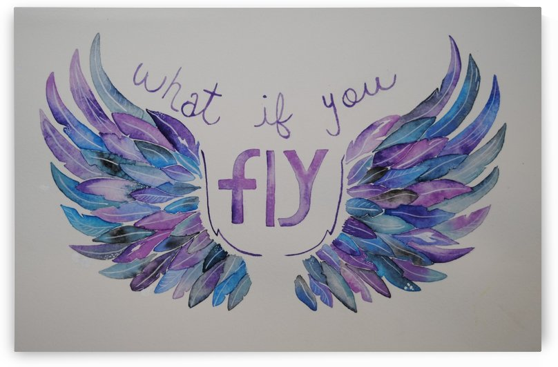 What if you fly  by April Hammon