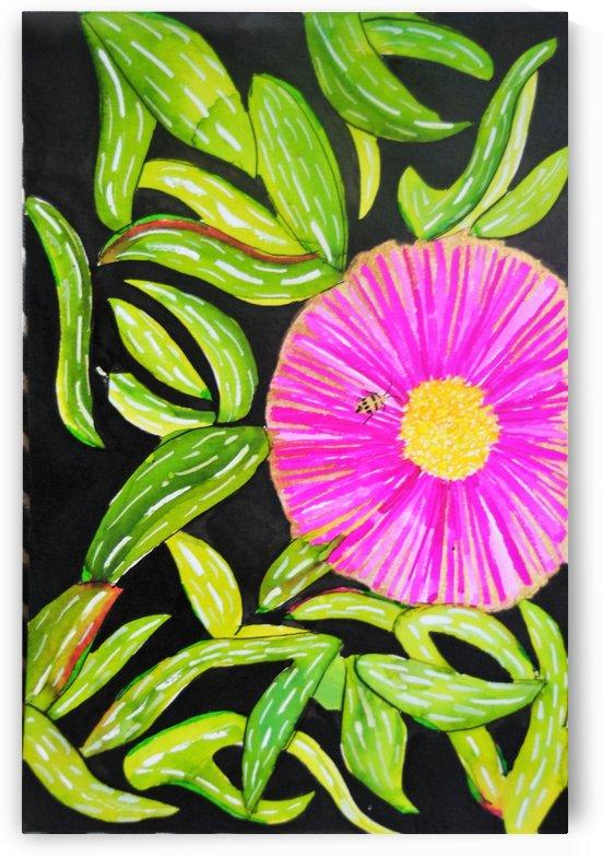 Coastal Flower by April Hammon