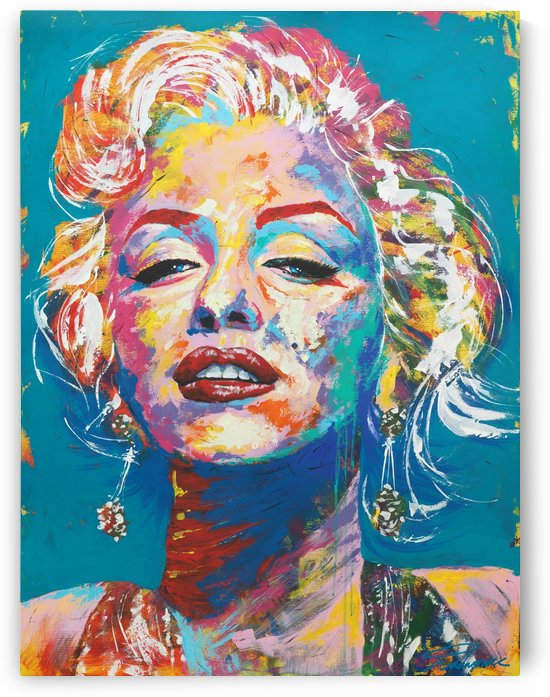 Marilyn Monroe Portrait Art - Tadaomi - by Tadaomi Kawasaki