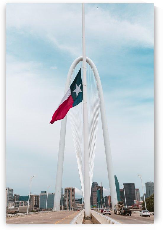 Dallas Skyline Bridge by Aaron Rodriguez