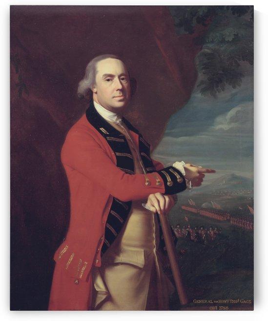 Thomas Gage by John Singleton Copley