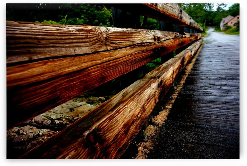 Wooden bridge by Amber Norcross