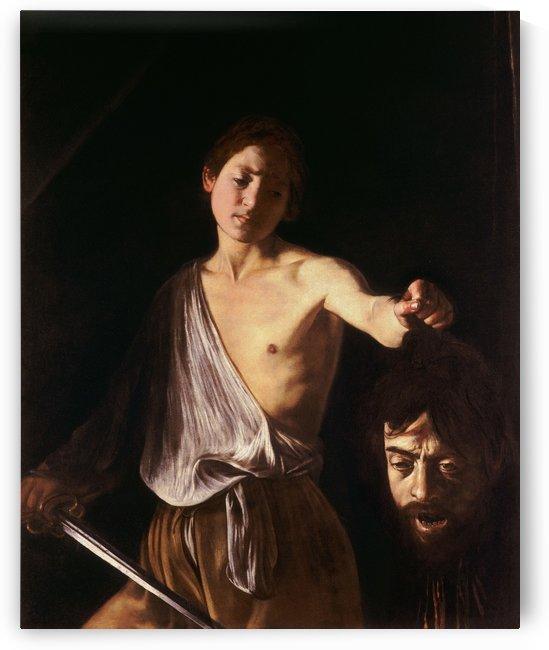 David con la testa di Golia by Caravaggio
