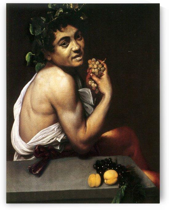 Young Sick Bacchus by Caravaggio
