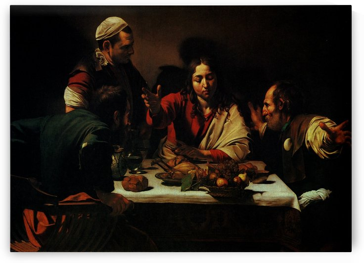 The Dinner by Caravaggio