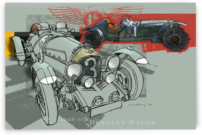 Bentley Racer by GentryArts