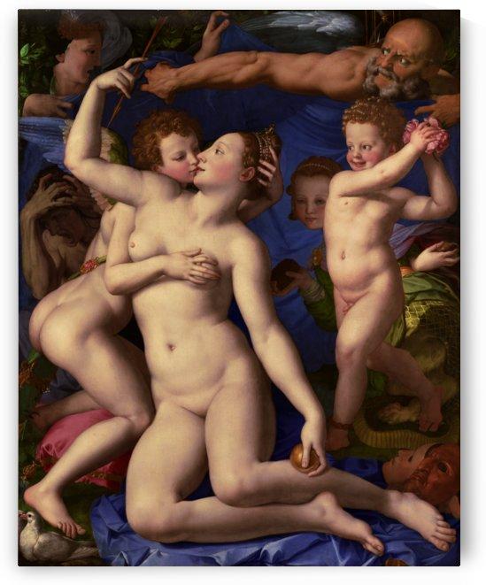 Venus Cupid Folly and Time by Agnolo Bronzino by xzendor7
