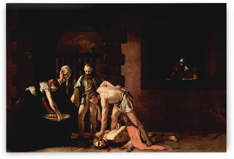 The Beheading of John the Baptist by Caravaggio