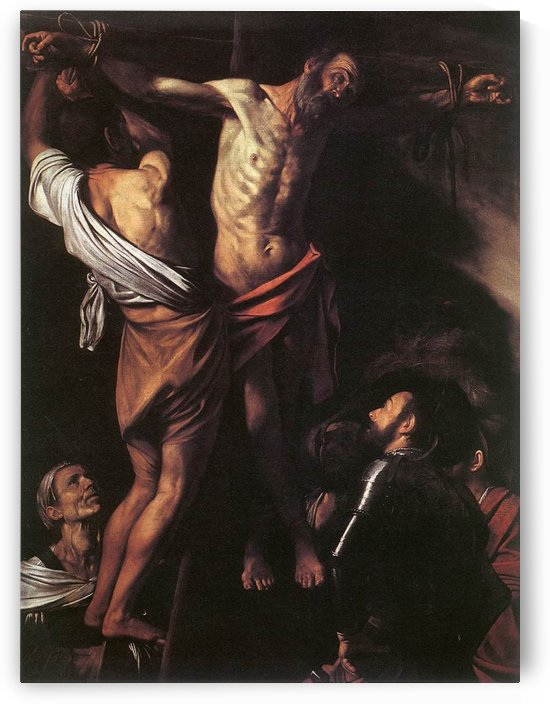 Crucifixion of Sant Andrew by Caravaggio