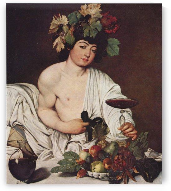 Self portrait Caravaggio by Caravaggio