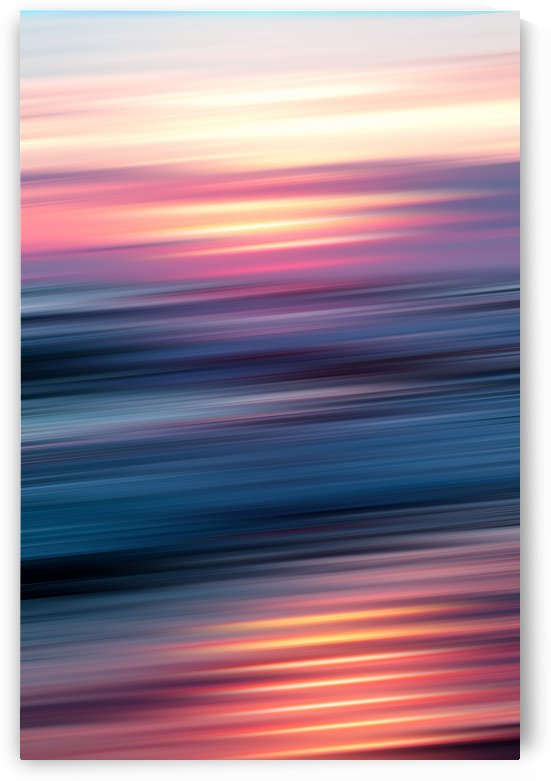 Abstract Sunset XII by Art Design Works