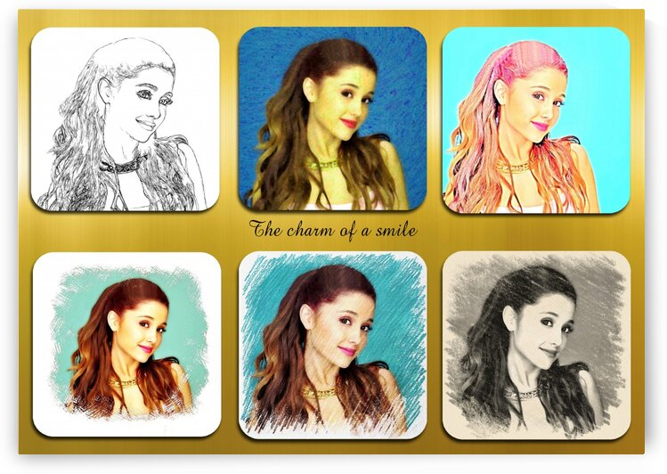 Ariana Grande pop star celebrity singer by Radiy Bohem