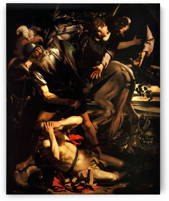The conversion of Saint Paul by Caravaggio