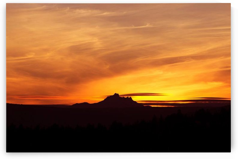 Central Oregon Sunset by Ann Horn