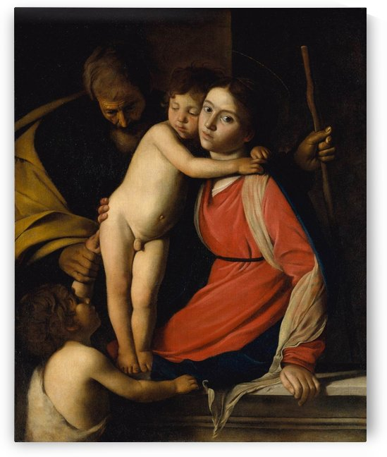 The Holy Family with the Infant St. John the Baptist by Caravaggio