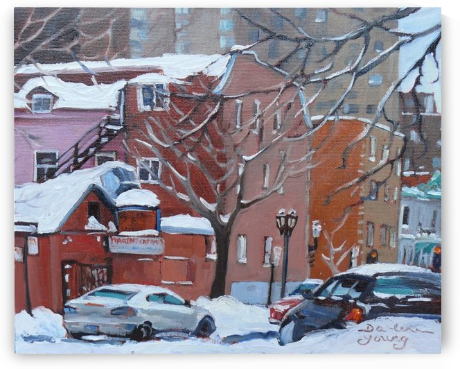 Marche Campus Montreal McGill Ghetto by Darlene Young Canadian Artist