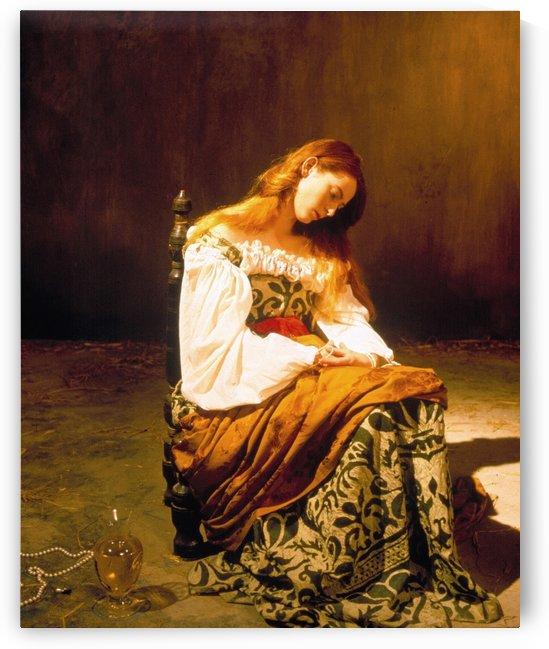 Tilda Swinton by Caravaggio