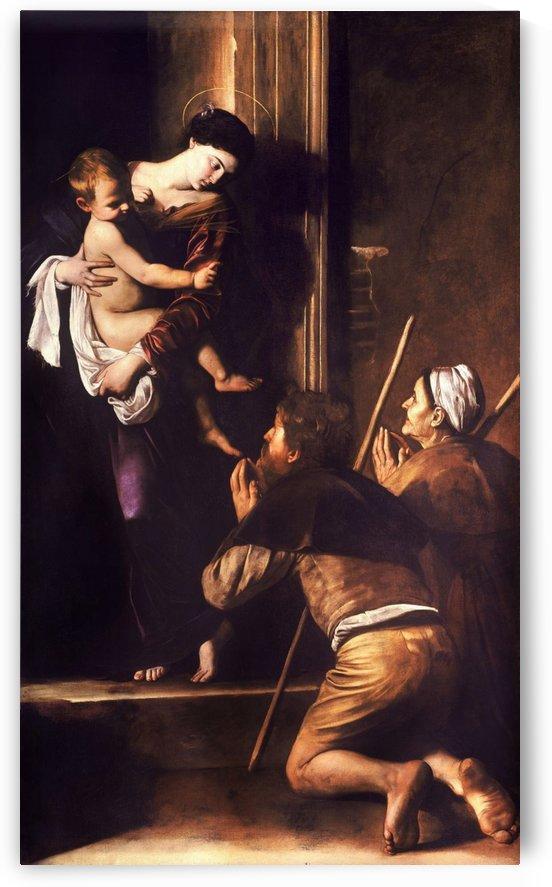 Madonna dei Pellegrini o di Loreto by Caravaggio