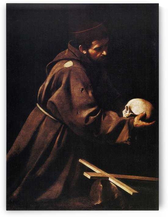 St Francis by Caravaggio