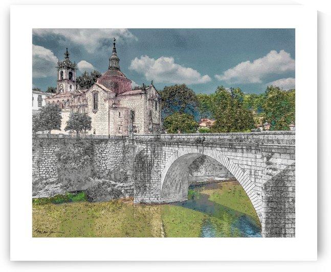 Le pont dAmarante Portugal by Jean-Louis Desrosiers