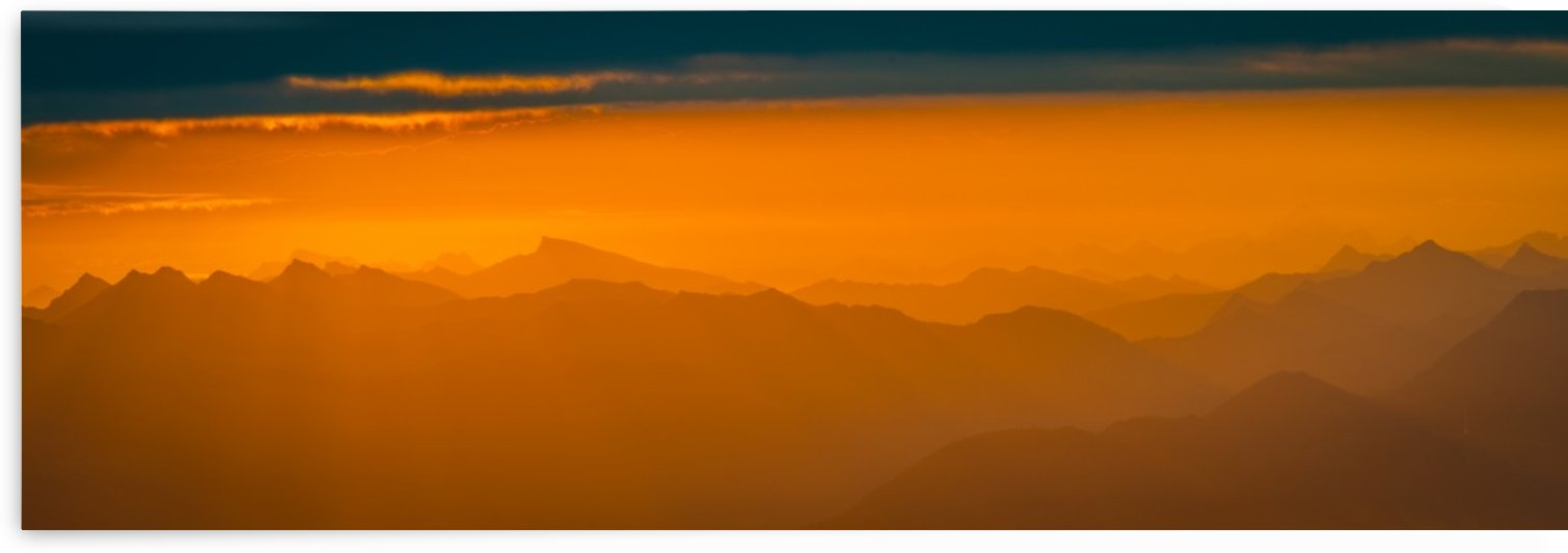sunrise layers by daniel aegerter
