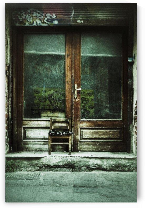 the old door by Elejota