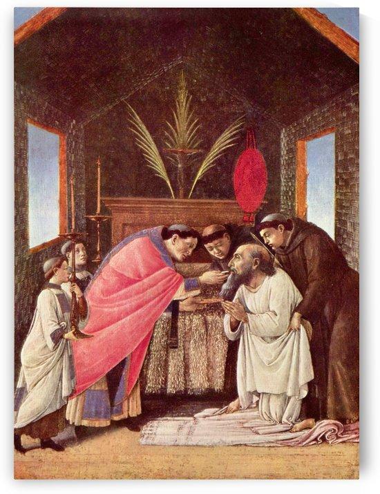 Last Communion of St Jerome by Sandro Botticelli
