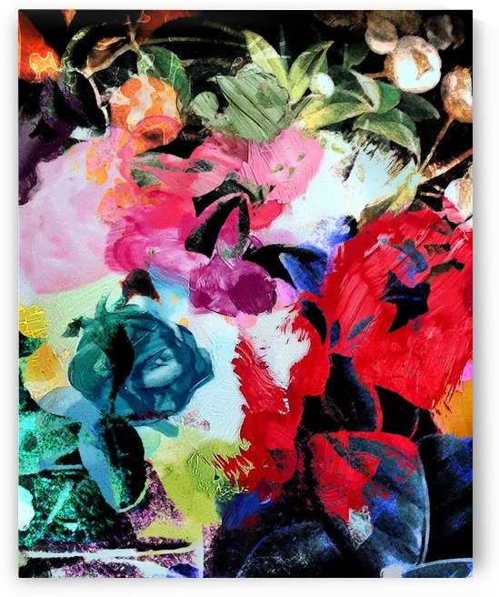 Paint Floral by James Schofield