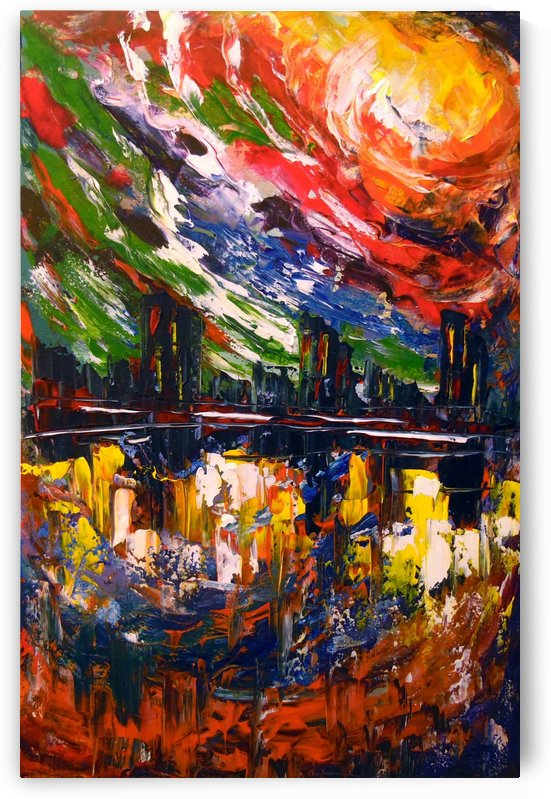 Bright storm by Olha Darchuk