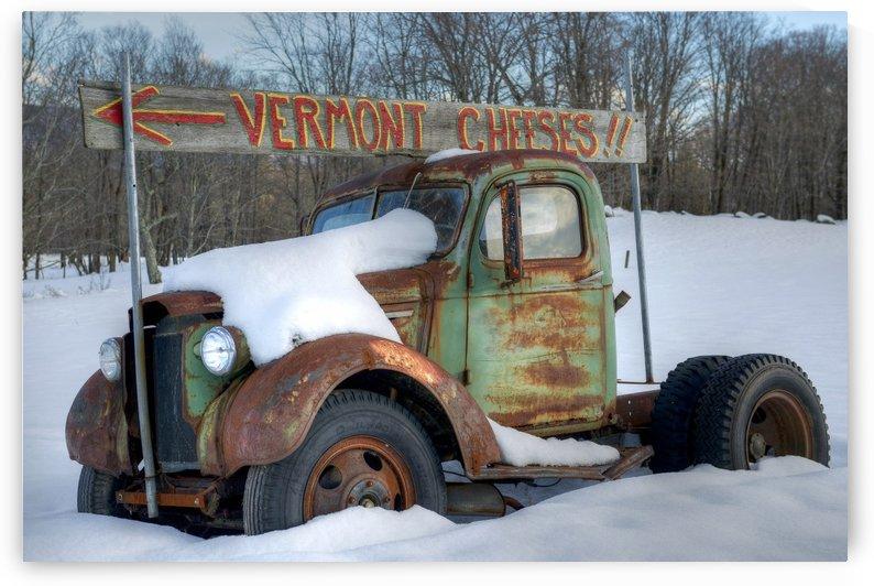 Cheese Truck Winter 556 by Matthew Lerman