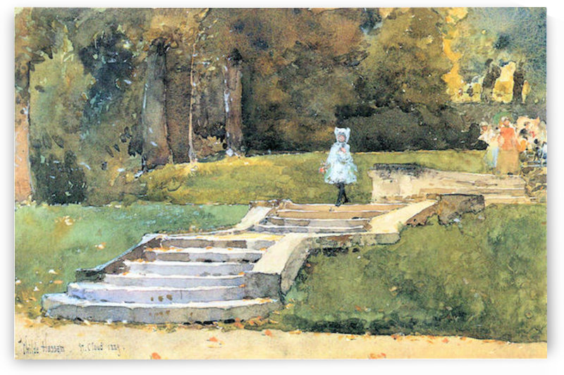 St. Cloud Mn. by Hassam by Hassam