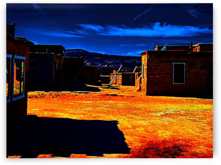 Dusk in Acoma by Efrain Montanez