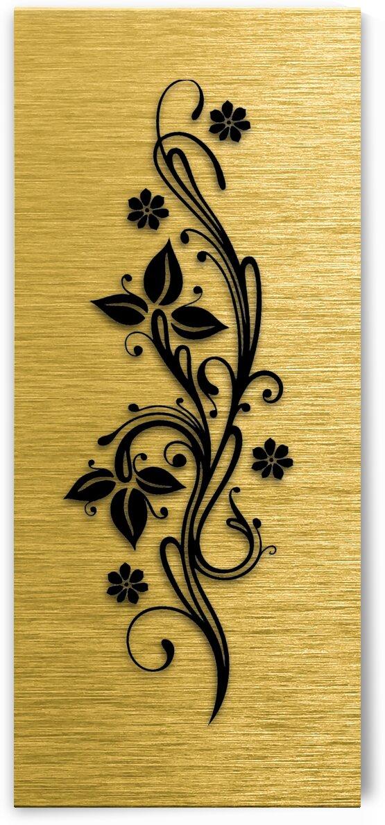 Gold illustration for interior decoration 4 by Radiy Bohem