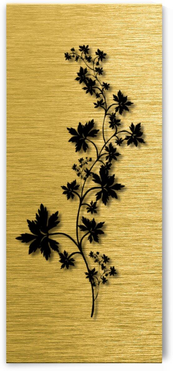 Gold illustration for interior decoration 5 by Radiy Bohem