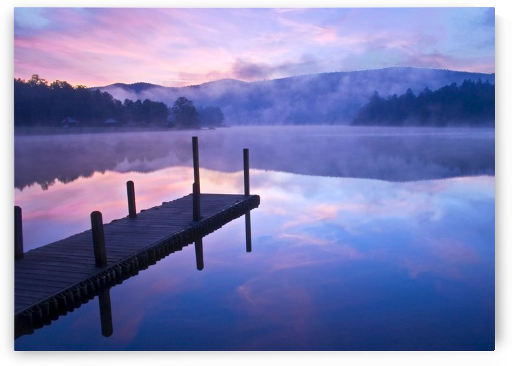 Glorious Morning At the Dock by Eliot Scher