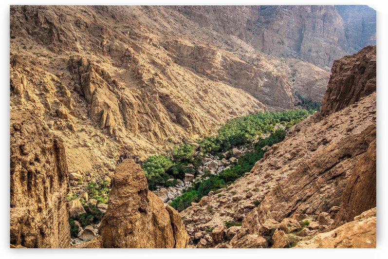 Wadi Dima Oman by Khalid Al Kharusi Photography