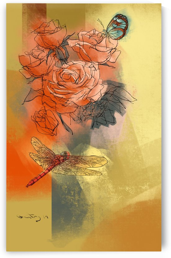 Roses by GentryArts