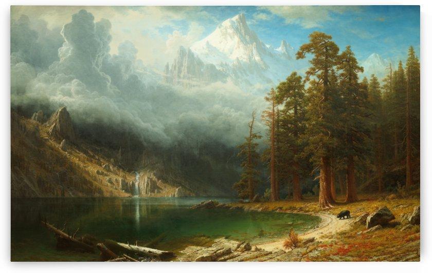 Mount Corcoran by Albert Bierstadt by xzendor7