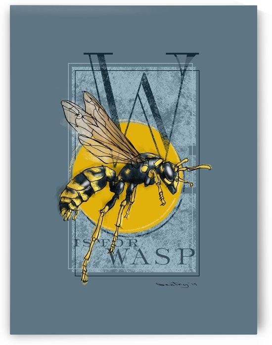 W is for Wasp by GentryArts