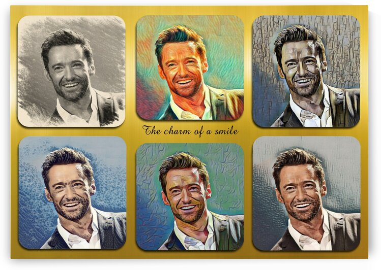Hugh Jackman pop star celebrity  by Radiy Bohem
